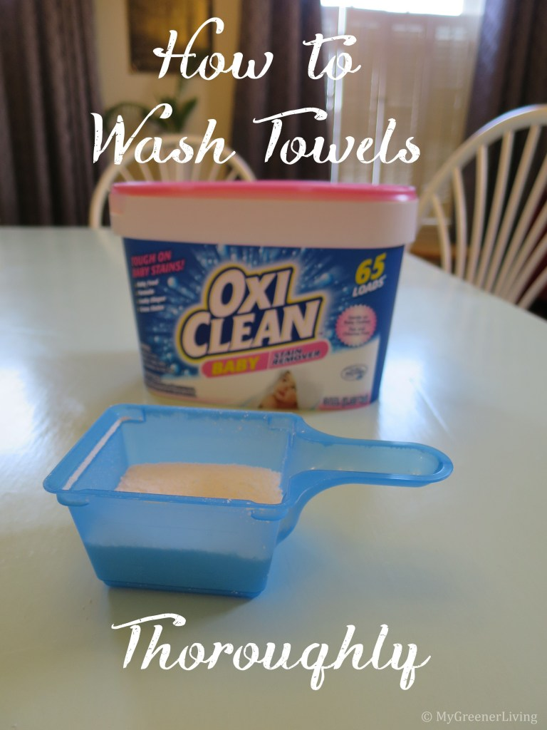 Title How to Wash Towels Thoroughly