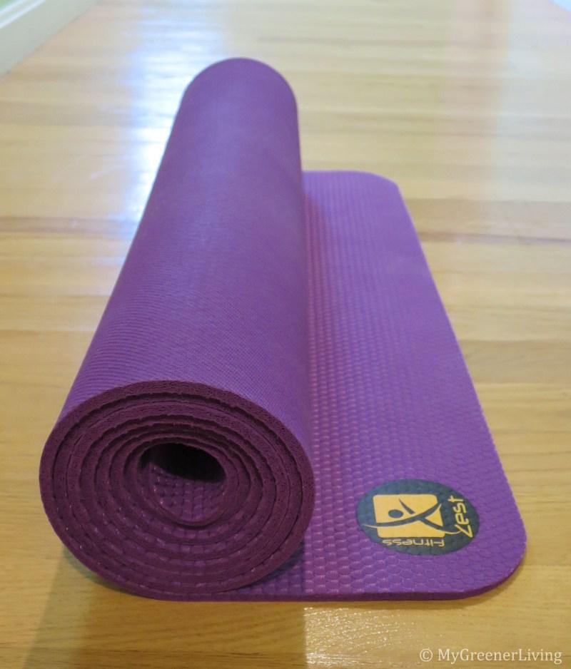 yoga mat roll