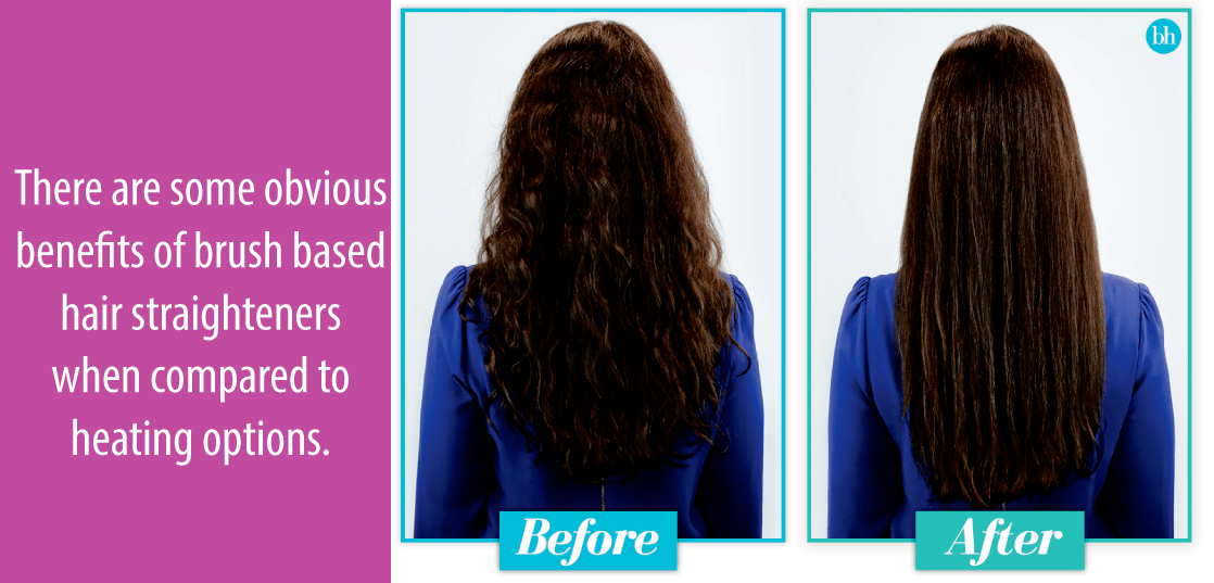 Why Brush Straighteners Can Be A Better Option