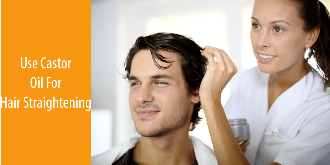 Few Tips: how to straighten hair men