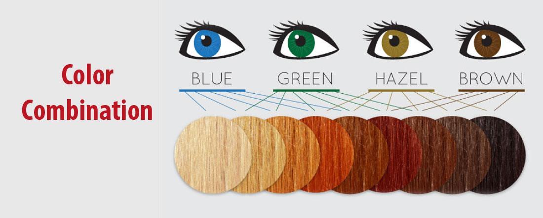 Best Hair Color for Green Hazel Eyes