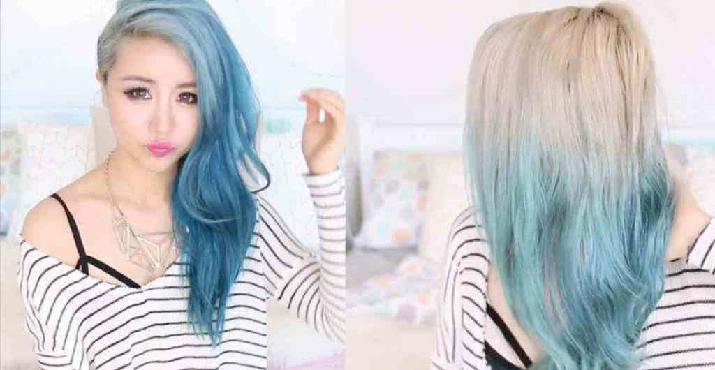 How to Remove Blue Hair Dye