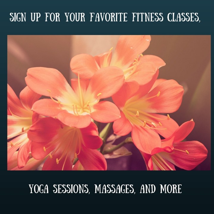 Sign up for your favorite fitness classes (4)
