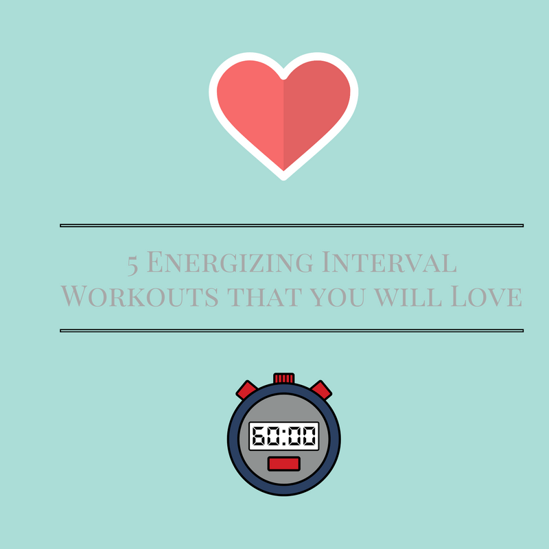 5 Energizing Interval Workouts that You Will Love