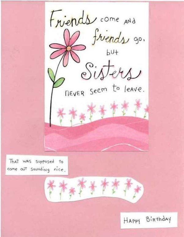 funny birthday pictures for sisters