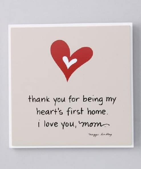 birthday thank you quotes for mom