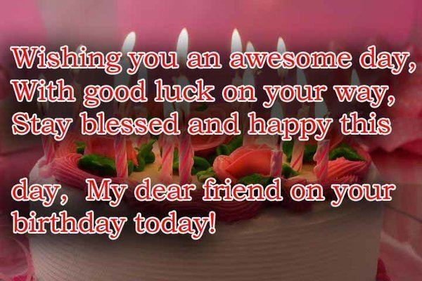 awesome birthday wishes for friend
