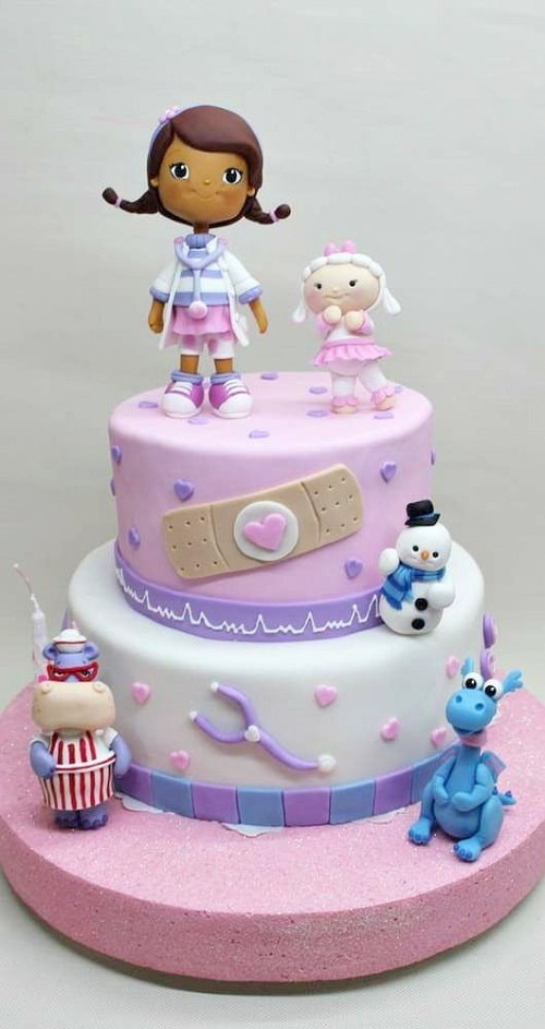 Doc Mcstuffins Birthday Cake Images for Kids