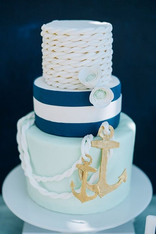 Navy Birthday Cake Images