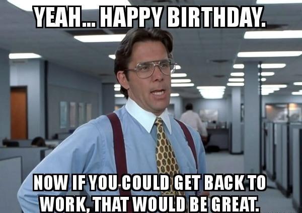 Birthday Meme For Friend