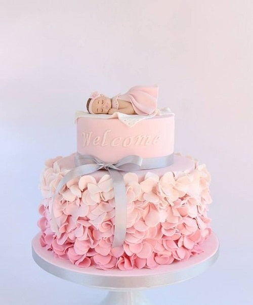 Tiered Christening Cakes