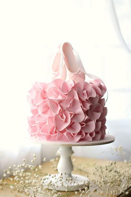 Ballet Birthday Cakes for Girls