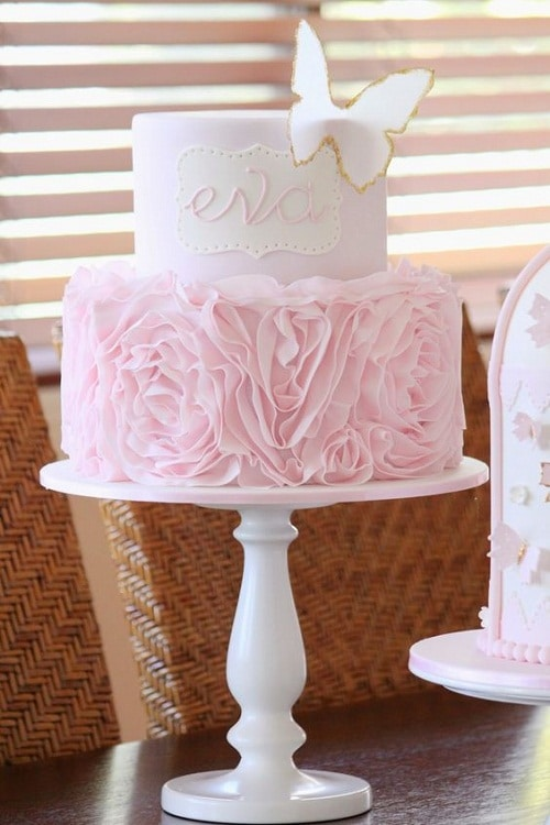 Couture Christening Cakes for Girls