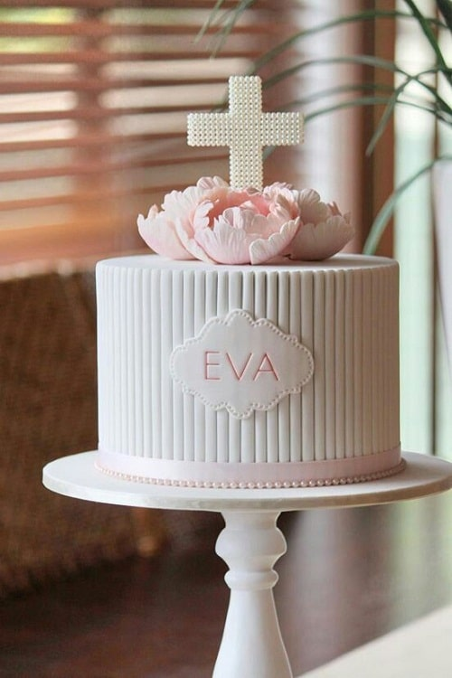 Great Idea Christening Cakes for Girls