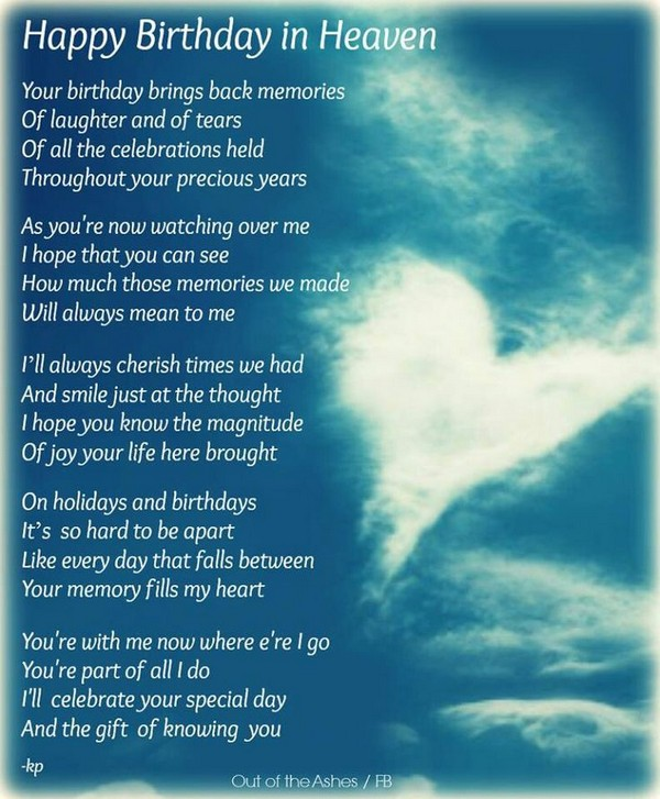 Birthday Wishes In Heaven Dad