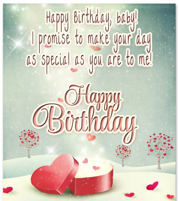 Cute Birthday Wishes For Your Girlfriend