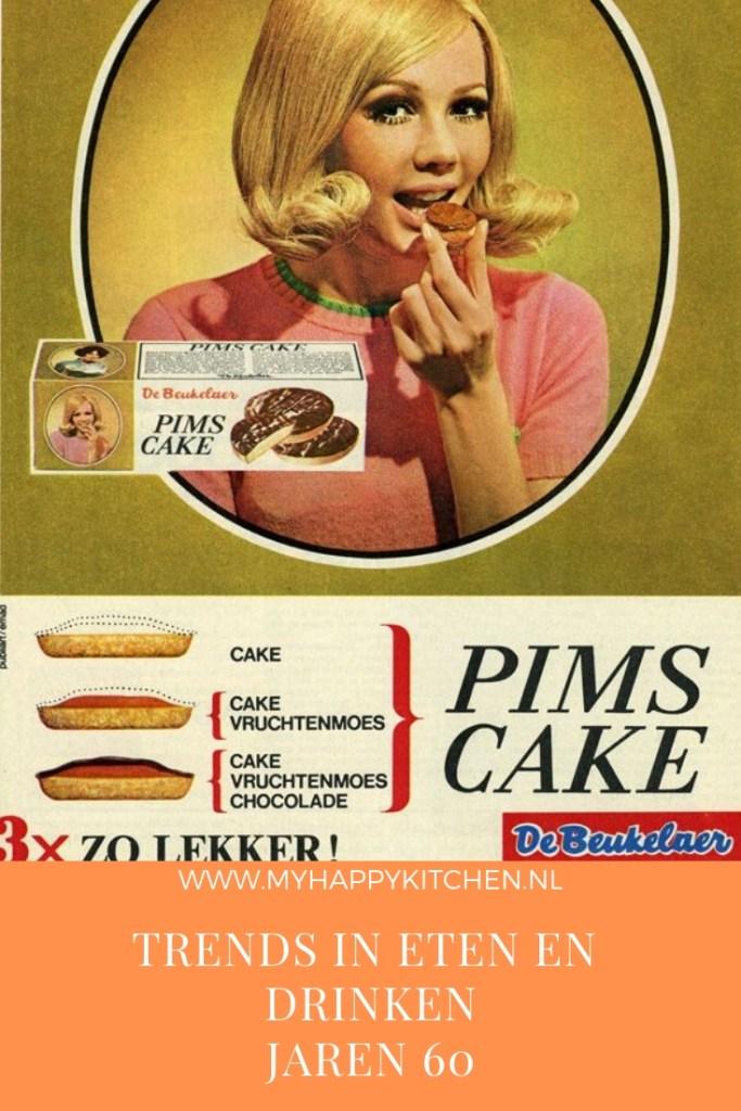 trends in eten en drinken de jaren 60