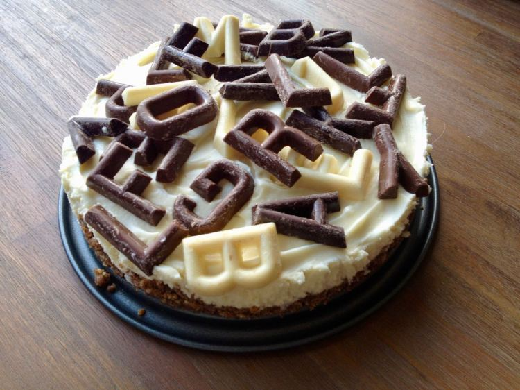 Sinterklaas chocoladetaart