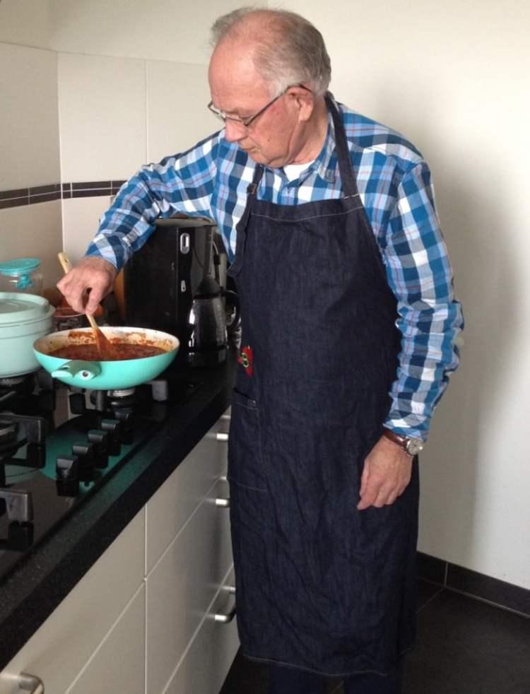 Papa in schort Rokjesdag