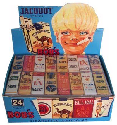 Nostalgisch snoepgoed: chocoladesigaretten