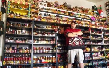 foodverzamelingen: hete saus