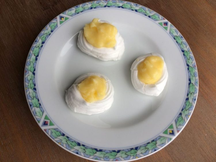 merengue met lemoncurd