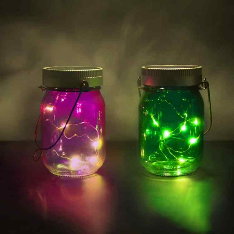Moederdagcadeau: Fairy jars