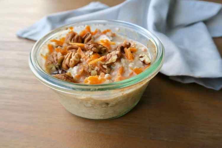 carrot cake overnight oates