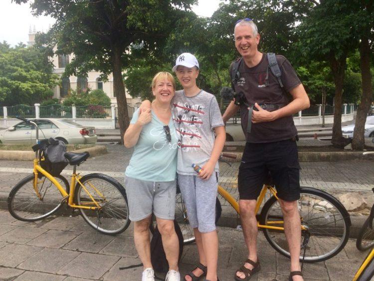 vakantie in Thailand - fietsen