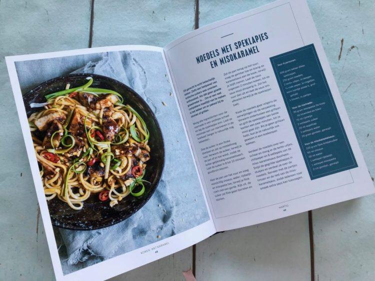 kookboeken: koken met karamel