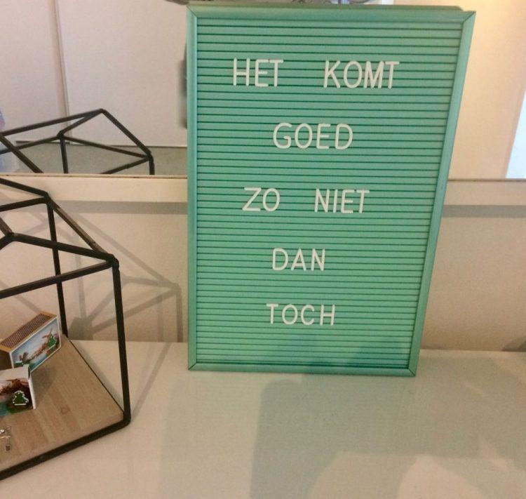 liefde voor quotes letterbord