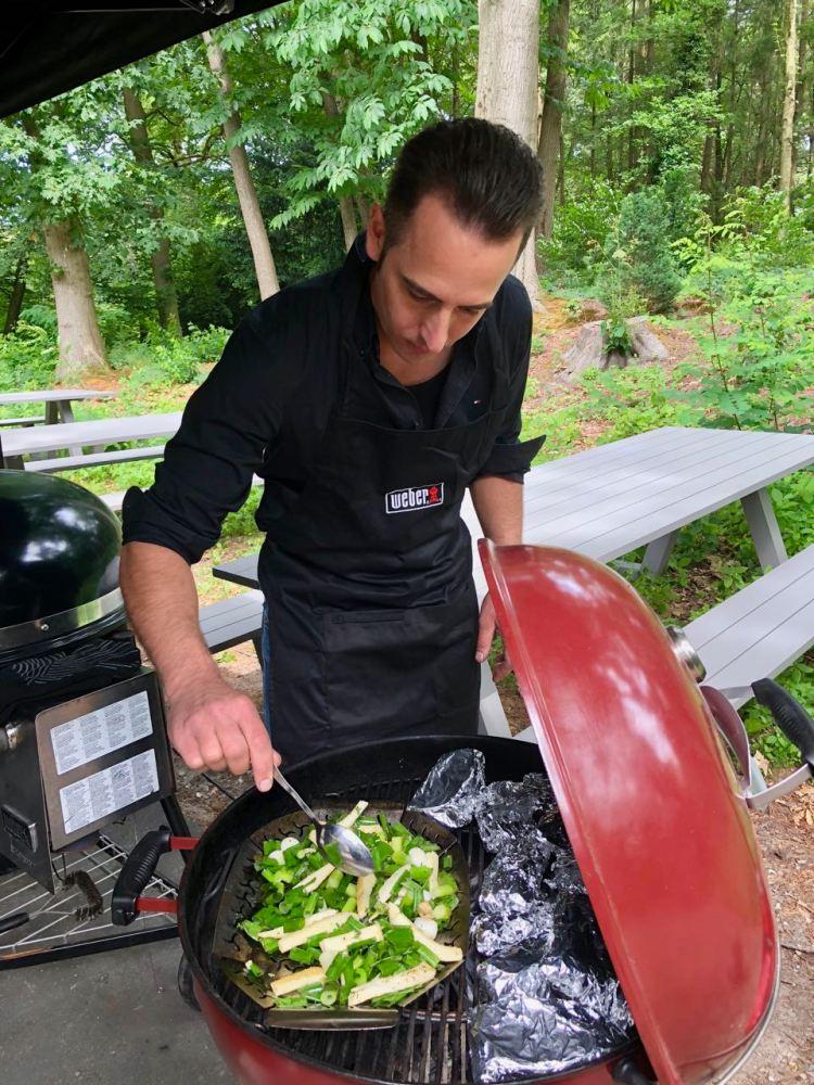 Weber backyard hero groente