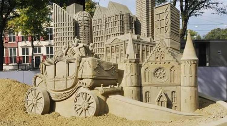 wk zandsculptuur
