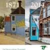 Het blauwe huis van Monet