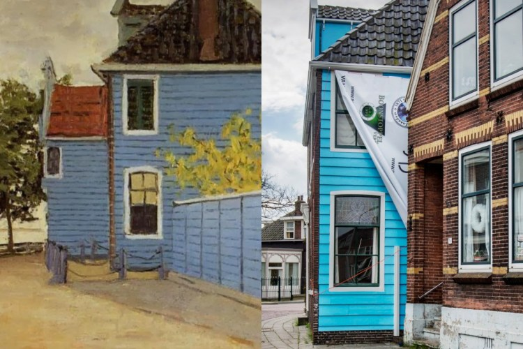 Over Claude Monet, het blauwe huis en mijn vader