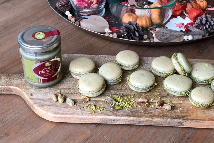 Eenvoudig recept voor pistache macarons
