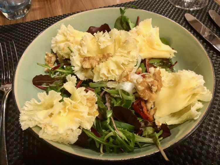 the living room - salade