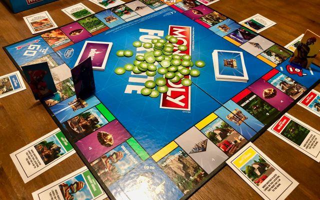 Monopoly Fortnite – hét bordspel voor pubers!