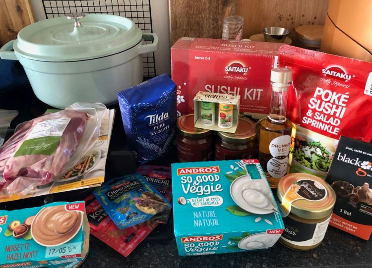 My happy life april 2019 foodie box lente