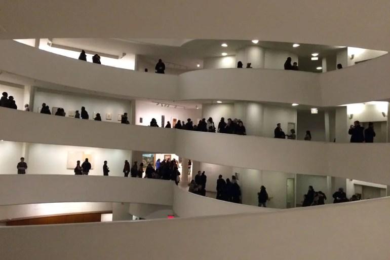 Weltweit für seine Architektur bekannt: das Solomon R. Guggenheim Museum