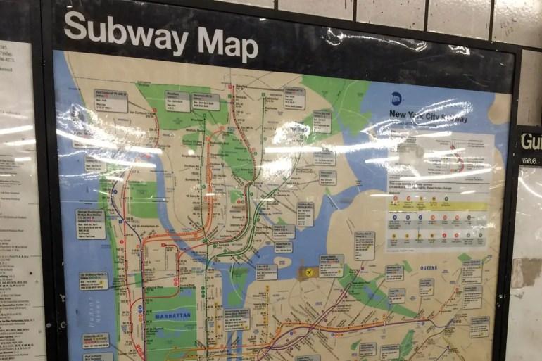 Mit der Subway kommst du im Big Apple überall hin