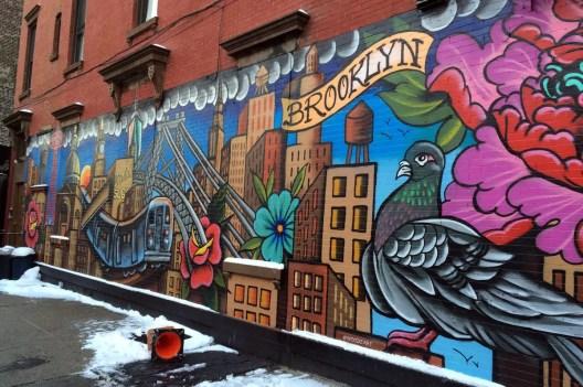 In Williamsburg versteckt sich an vielen Ecken tolle Streetart-Kunst