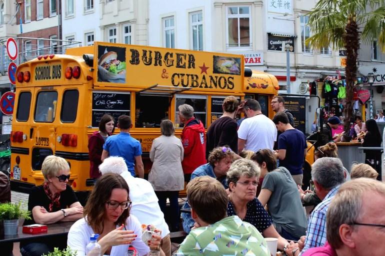 Auch die Trucks selbst - wie hier im amerikanischen Schulbus - sind sehenswert