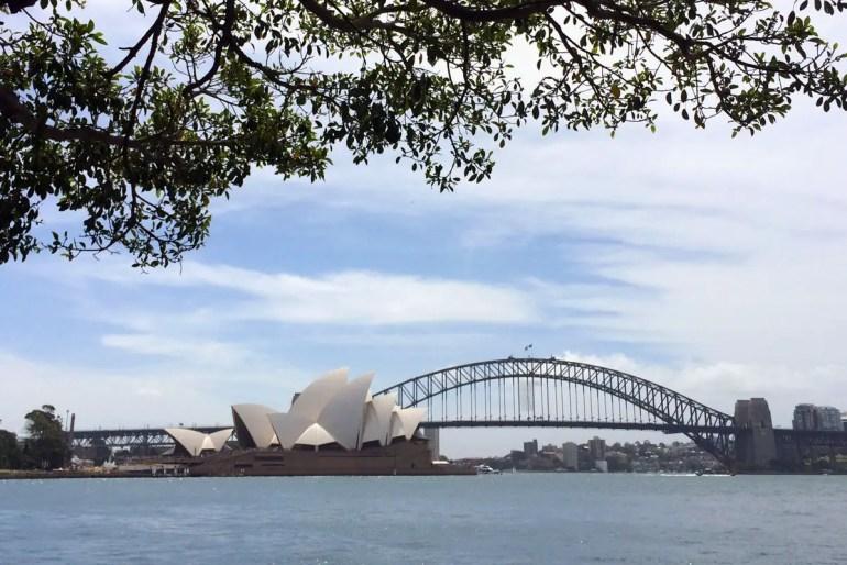 Sydneys Wahrzeichen: Opera House und Harbour Bridge