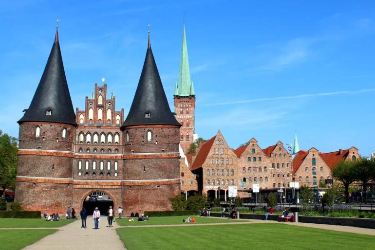 Lübecks Wahrzeichen: das Holstentor