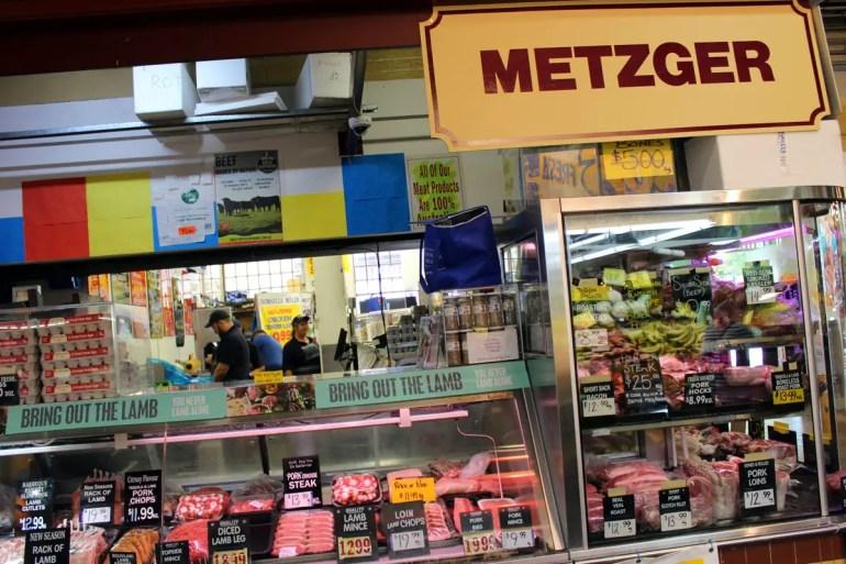 Frisches Fleisch direkt vom Metzger