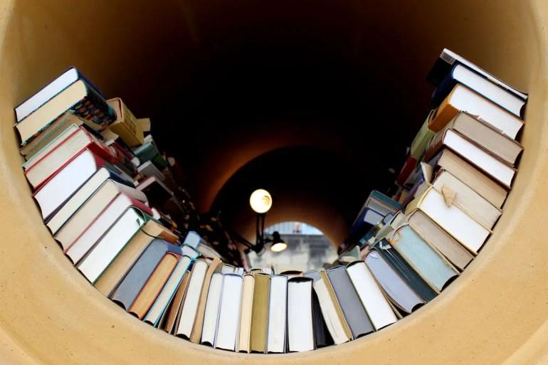 Sogar an die Bibliothek haben die Studierenden gedacht