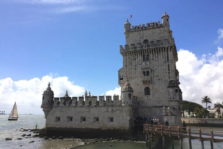 Eine der prominentesten Sehenswürdigkeiten: der Torre de Belém
