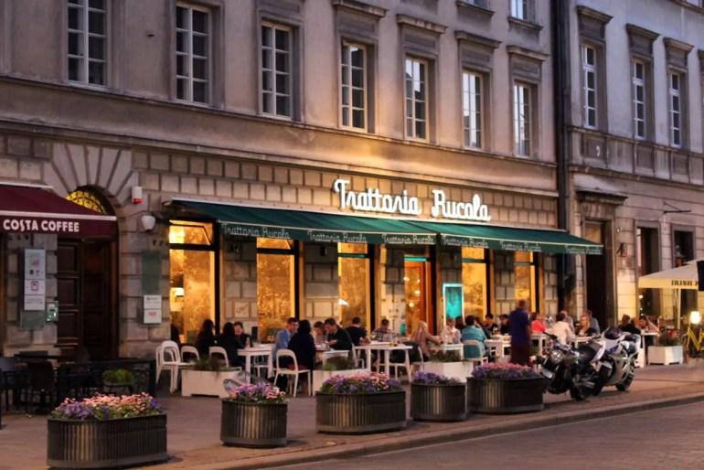 Nicht nur polnische Küche: Warschau bietet eine breite Auswahl an Restaurants