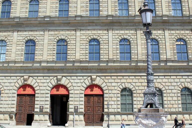 Inspiriert vom Palazzo Pitti in Florenz: die Münchner Residenz